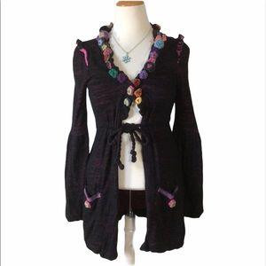 Nuvula Wear your imagination Knit cardigan